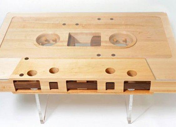 egotripland.com  » How Ya Livin'?: This Mixtape Coffee Table is Fresh.