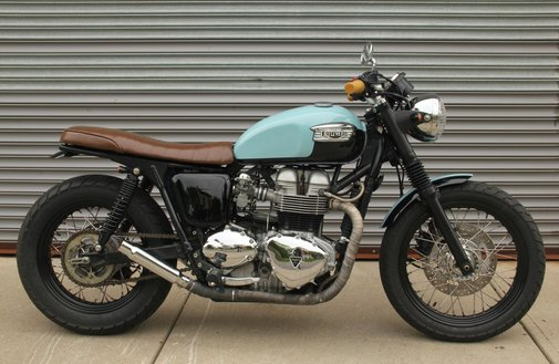 The Baker Bonnie-Vintage Inspired Triumph Custom