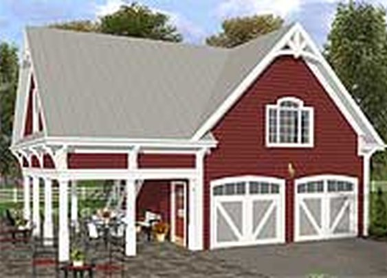 Plan W20055GA: Carriage, Garage House Plans & Home Designs