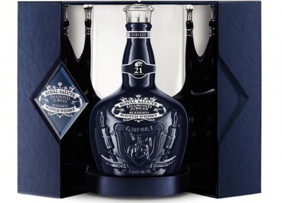 Royal Salute launch Diamond Jubilee bottle