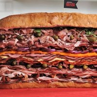 Behold the Meatiest Sandwich in Human History