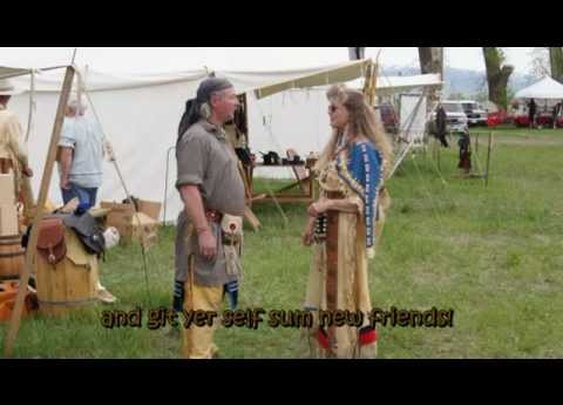 Portneuf Mountain Man Rendezvous - YouTube