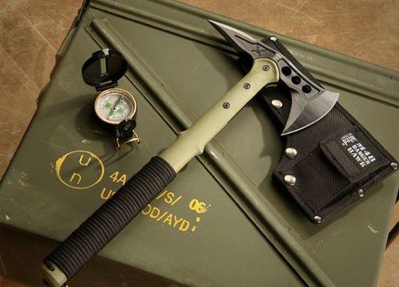 Ranger Hawk Axe Chops Wood