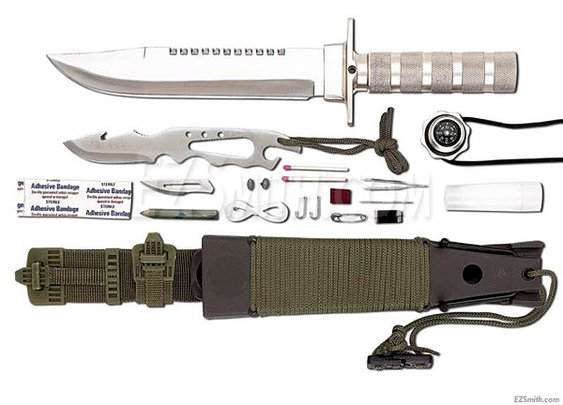 Maxam® - Survival Knife Set