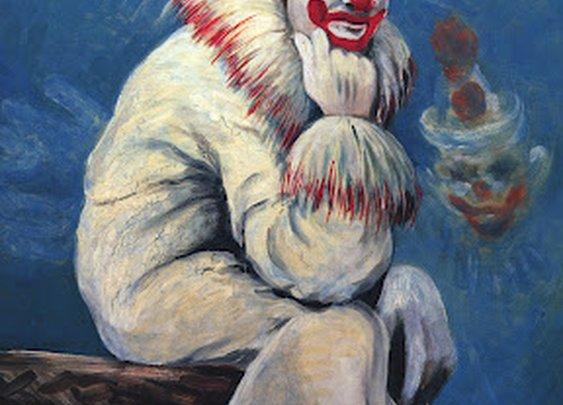 100 strange and disturbing clown images.