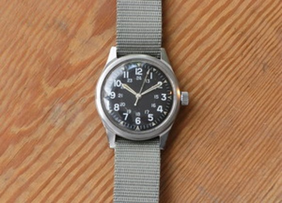 Buckshot Sonny's — Military-issue Watch by Benrus, 1967