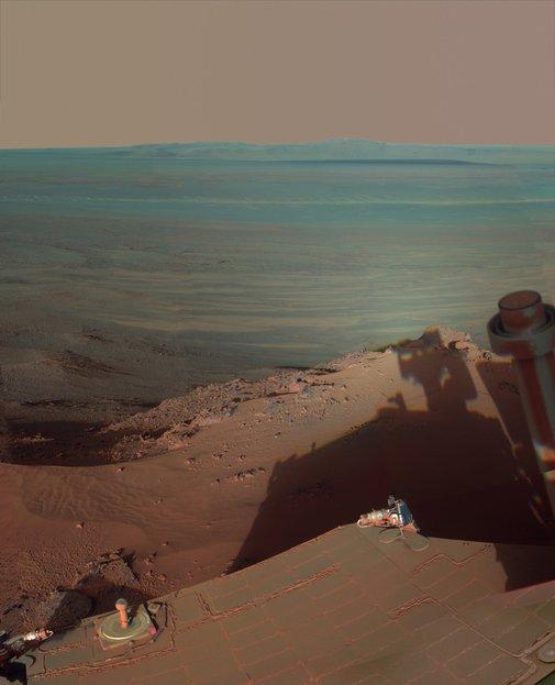 Mars Rover snaps a stunning photo. - Imgur