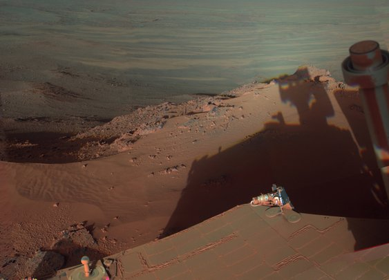 Mars Rover snaps a stunning photo. - Imgur
