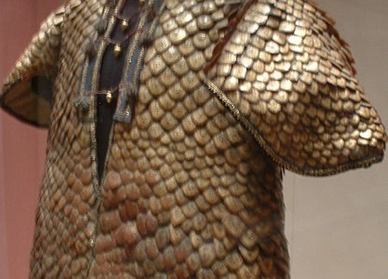 Armor Coat of Pangolin anteater scales