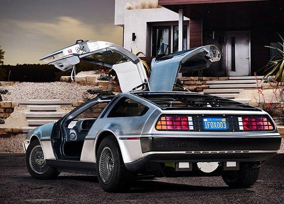 Electric DeLorean | Uncrate