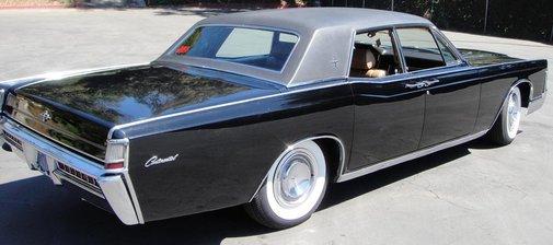 1965 Lincoln Continental.