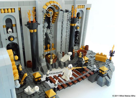 Dante's Circles of Hell Created in LEGO