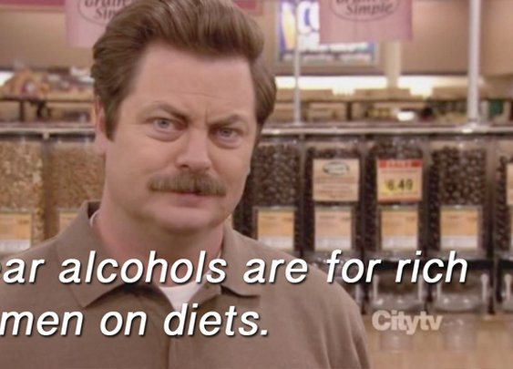 wise words from ron swanson. - Imgur