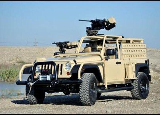 Jeep J8 - Light Patrol Vehicle (LPV)