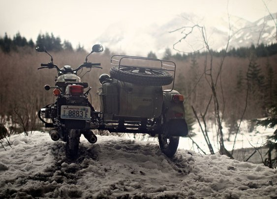 Sidecars & Snow: A Mountain Ride with Ural Motorcycles