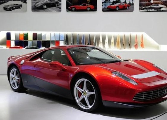 Ferrari SP12 EC for Eric Clapton