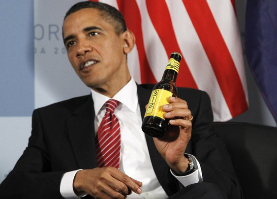 Obama To Serve Home-Brewed Honey Beer For St. Patrick's Day : The Two-Way : NPR
