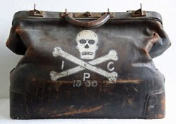 1930s Doctors Death Bag