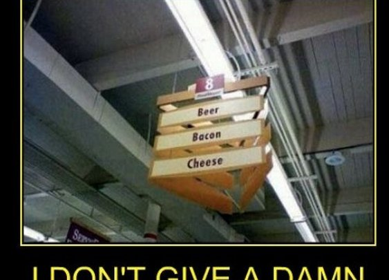 Aisle 8: Beer, Bacon, and Cheese
