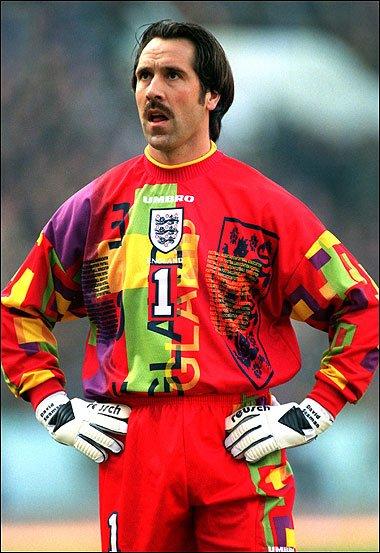 d31a39064ce David Seaman ; England Goalkeeper Jersey 1996 | Gentlemint