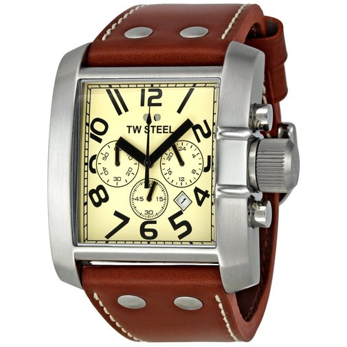 Want a watch with a bit of brawn? TW Steel your wrist!