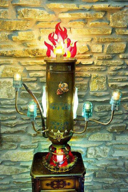 Fire Extinguisher Lamps - http://www.austingrover.com/
