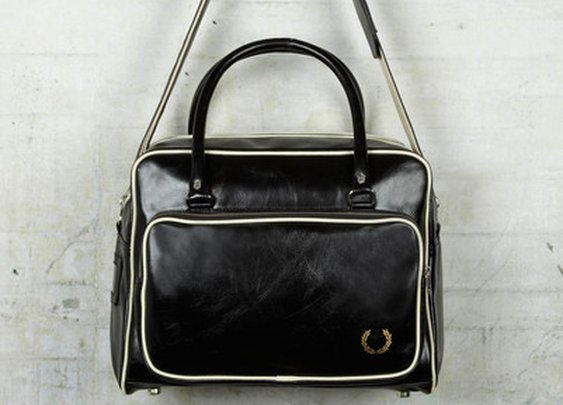 Fred Perry Holdall Bag - Black