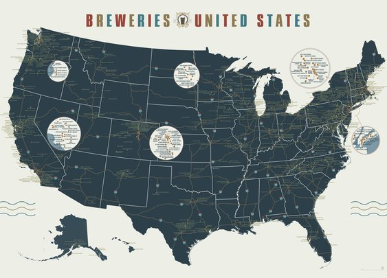 Breweries of the Untited States