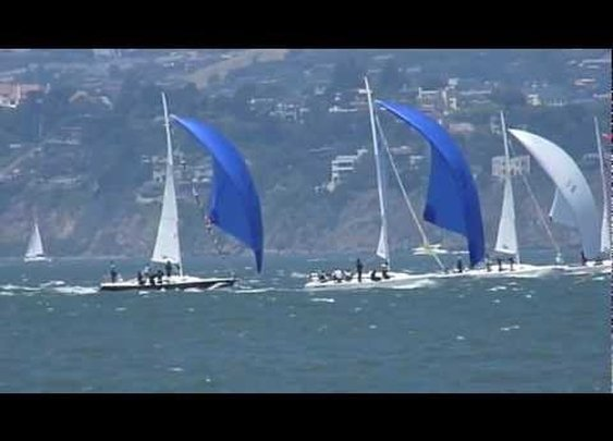 Windy Sailing in San Francisco