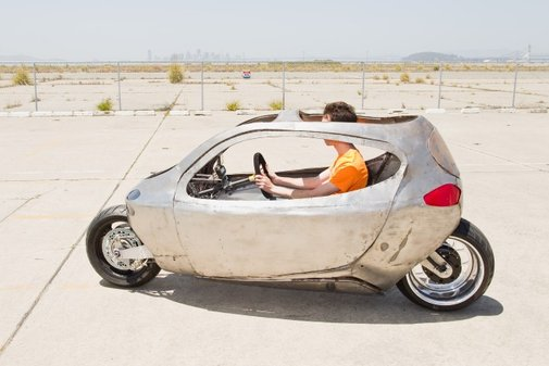 This Is the Gyro-Stabilized, Two-Wheeled Future of Transportation