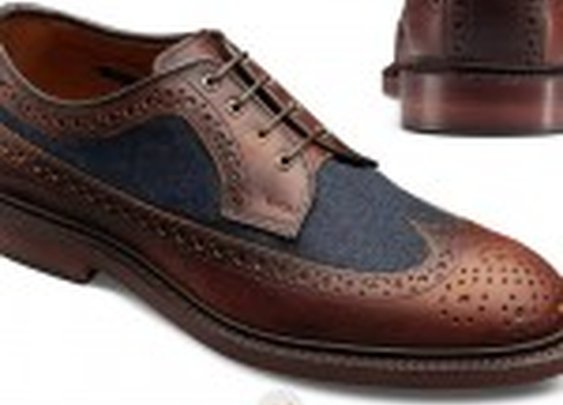 Allen Edmonds Special Edition Kasmuk Wingtips