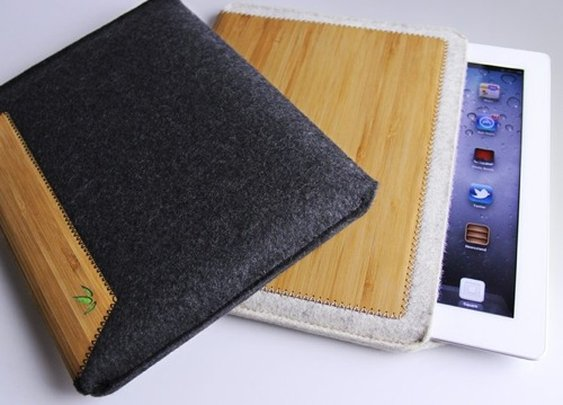 Grove Bamboo + Wool iPad Sleeve | Contemporary Masculine