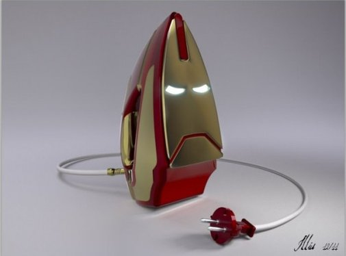 The Literal, And Less Impressive Iron Man