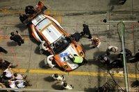 Porsche 911 GT3 R Hybrid pit stop by Brett Sloan