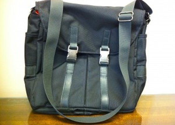 Tucker & Bloom North to South Messenger Bag | Modern Vintage Man