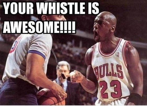 Michael Jordan Likes Whistles