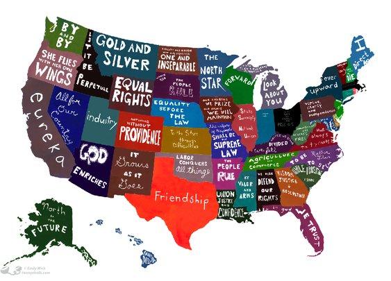 \ In Mottos We Trust? United Statements of America