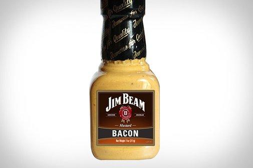 Jim Beam Bacon Mustard | Uncrate