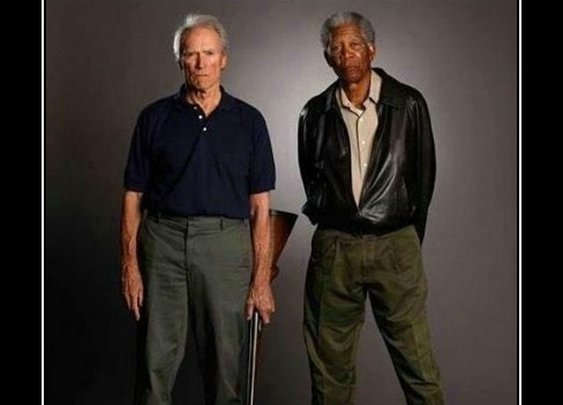 WHEN I DIE…I want to be shot by Clint Eastwood while Morgan Freeman narrates it...