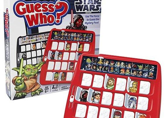 Star Wars Guess Who Game  | GeekAlerts