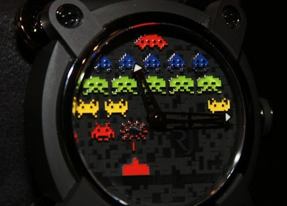 Romain Jerome Space Invaders Watch