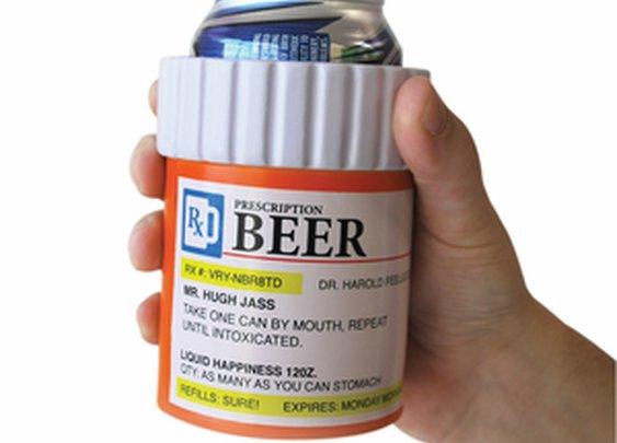 Prescription Bottle Beer Holder