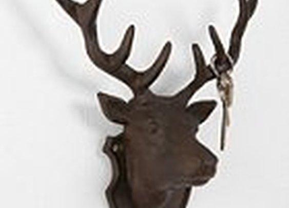 Deer Head Key Hook