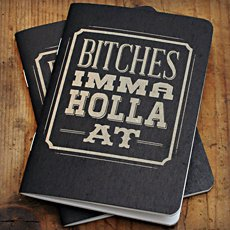 Bitches Imma Holla At Notebooks