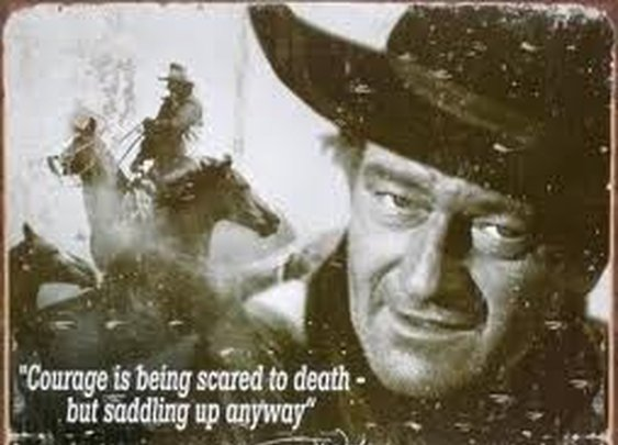 INSPIRATIONAL QUOTES / John Wayne