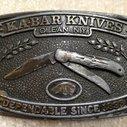 Ka-Bar Knives Belt Buckle (Doghead)