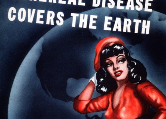 18 Delightfully Artistic Vintage STD Posters - Mental Floss