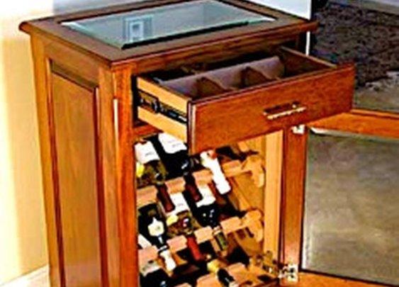 Wine Cooler Humidor by Paul Humidors