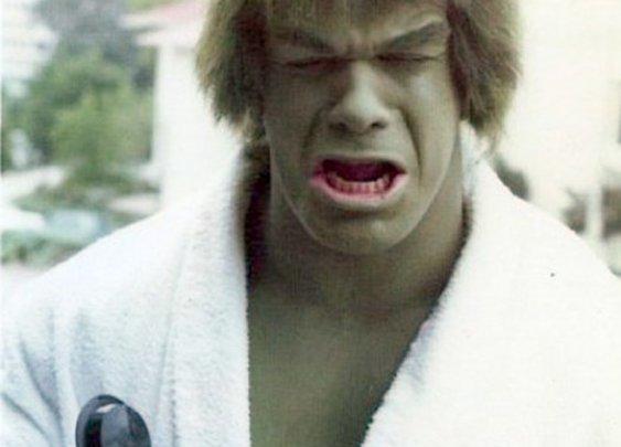 Hulk sad!