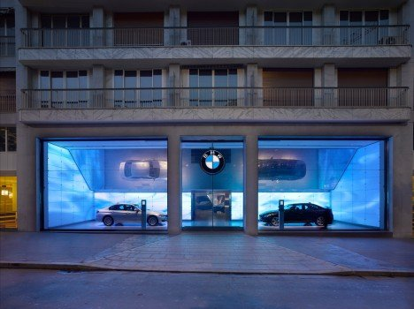 First Ever BMW Brand Store Opens in Paris